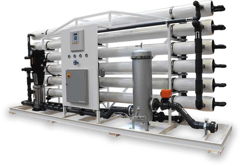 سازنده آب شیرین کن صنعتی